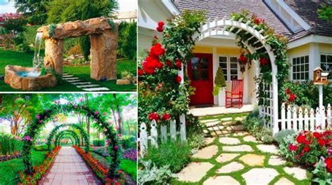 cuisine cacher 23 idées sublimes d 39 arches pour décorer jardin des idées