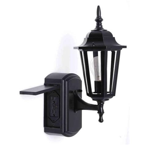 Light Fixture With Outlet by 15 Collection Of Outdoor Wall Lights With