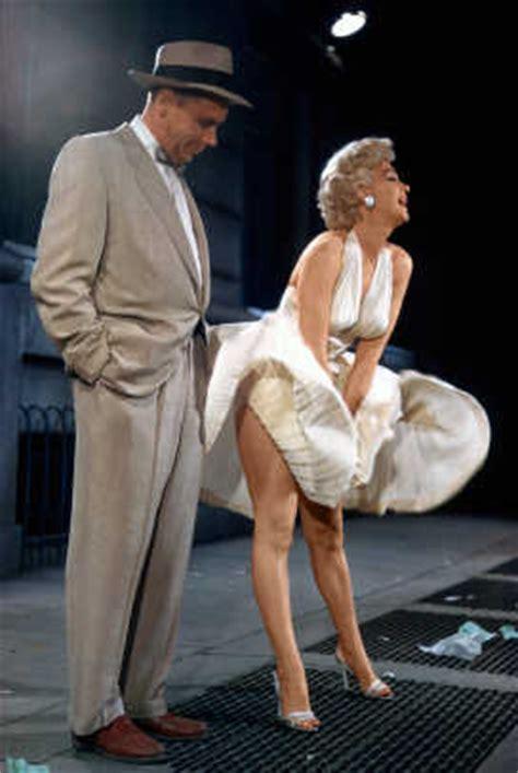 scenes  marilyn monroes iconic flying skirt