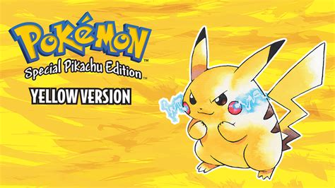Pokémon Yellow Version Special Pikachu Edition Details ...