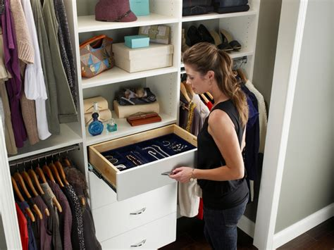 reach in closet organizers jewelry drawer