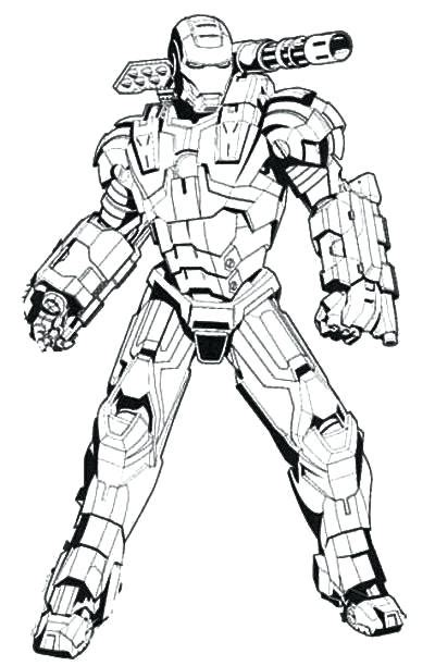 war machine coloring pages  getcoloringscom