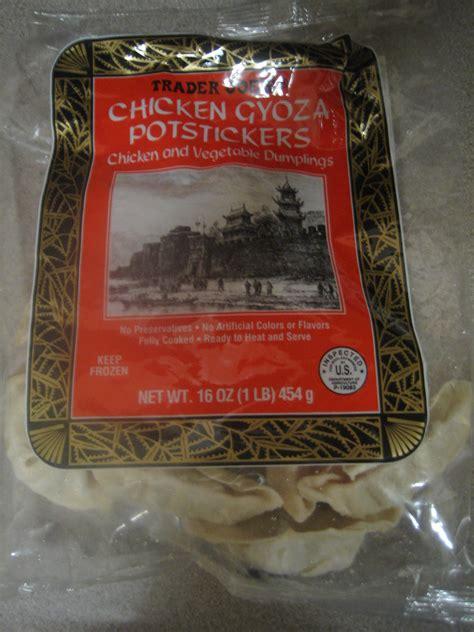 trader joe  chicken gyoza pot stickers shespeaks