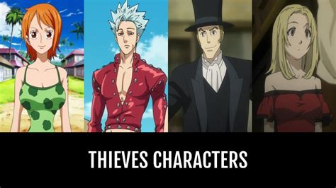 thieves characters anime planet