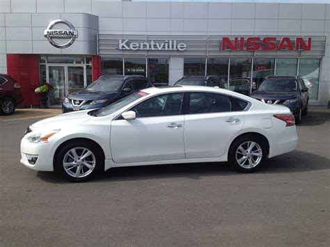2014 Nissan Altima 2 5 Sv by Used 2014 Nissan Altima 2 5 Sv In Kentville Used