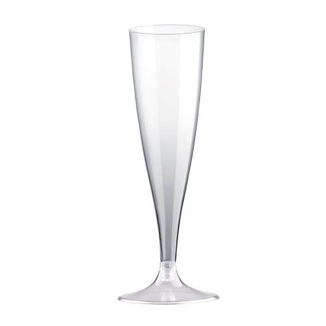 Bicchieri Flut by Bicchieri Flute Plastica Trasparente Eurofides