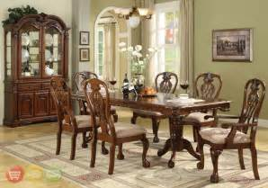 brussels formal dining room 7 piece furniture set