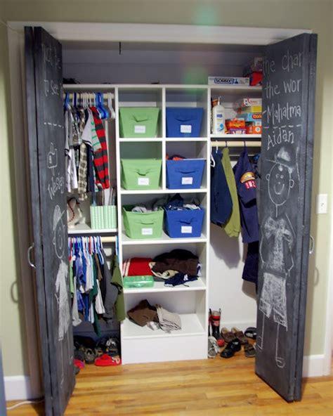 great closet set up children