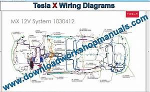 Tesla Model X Service Repair Manual