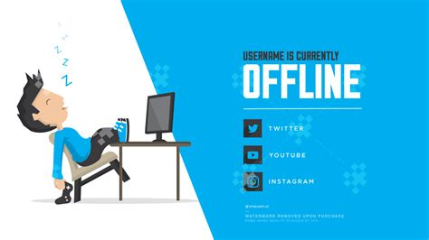Twitch Banner Template Psd 2017 by Twitch Banners Template Free Cover Images With Creator