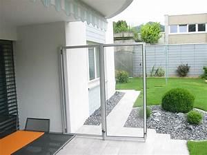 Windschutz Aus Glas : faltbarer windschutz aus acrylglas wigart ag ~ Watch28wear.com Haus und Dekorationen