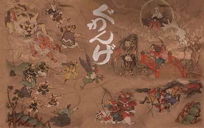 Klimt Gustav Japanese Japan Wallpapers Wall Paining