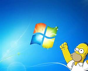 Homer Windows7 Wallpaper by peppemilan22 on DeviantArt