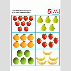 Count Five  K  Kids Learning Games And Worksheets  Free Printable Activities & Online Kids