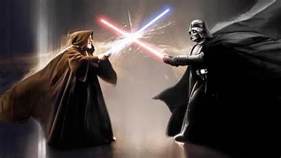 Obi Anakin Darth Skywalker Desktop Background Wan