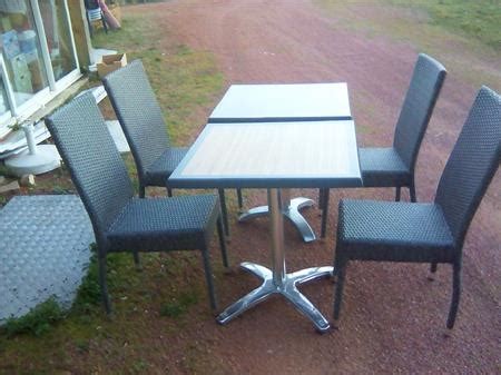 table et chaise de terrasse professionnel tables et chaises de terrasse amobis à 80 42300