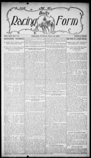 daily racing form n sunday july 1907 daily racing form free download borrow and