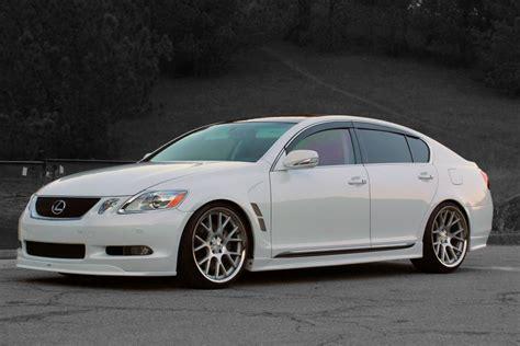 lexus gs  vossen vvs cvs gorgeous setup speedonline porsche forum  luxury car