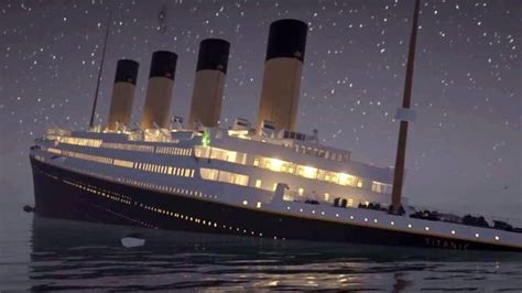 titanic sinking animation real time viral real time animation of titanic sinking