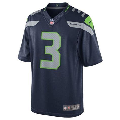 nfl seattle seahawks russell wilson  field limited jersey