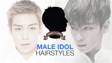 pop askkpop poll short  long male idol hairstyles