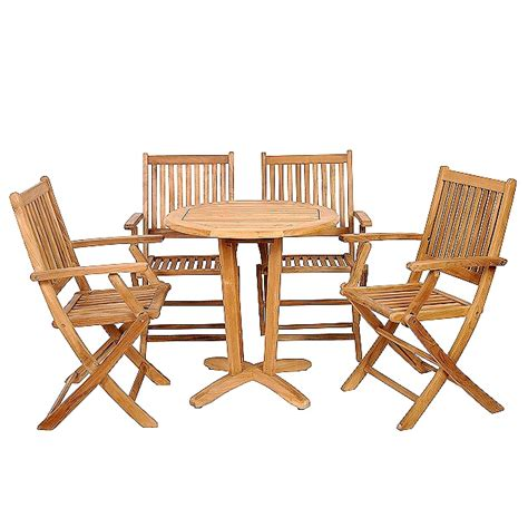 teak patio bistro set modern patio outdoor