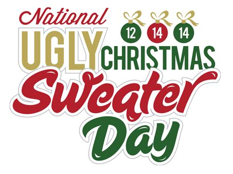 national sweater day national sweater day 12th december 2014