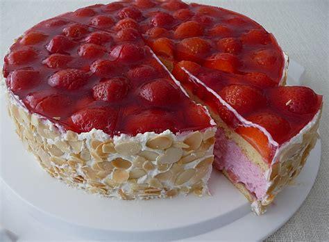 german strawberry torte layered cake  german recipes