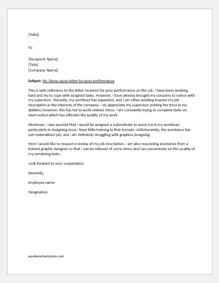 show  letter replies   situations word