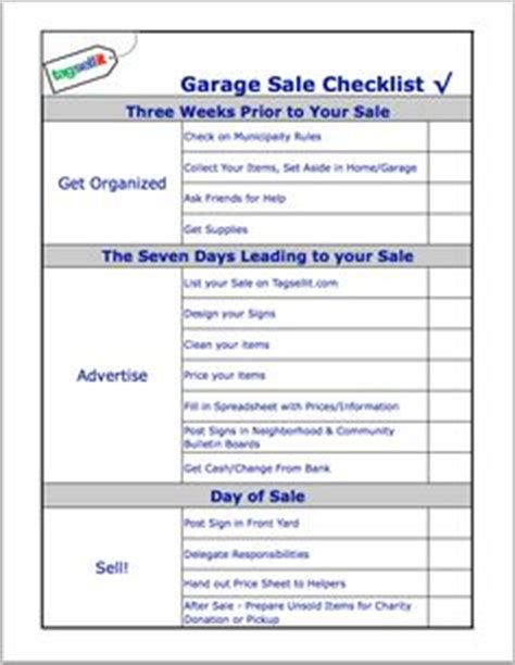 1000+ Images About Yard Sale Organization On Pinterest