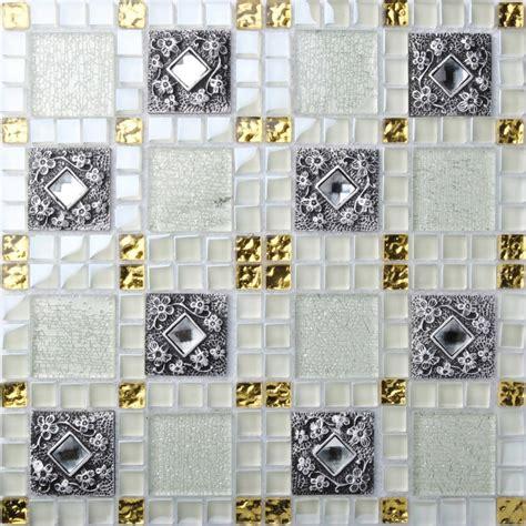 stainless steel kitchen backsplash panels tst glass mental tile mosaic glass tile white and black