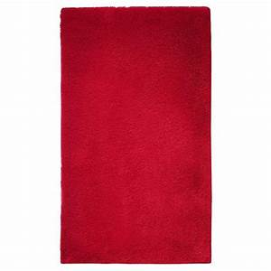 tapis de salle de bain de prestige rouge With tapis salle de bain rouge