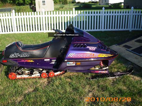 formula 3 skidoo 1997 ski doo formula iii