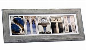 creative letter art personalized framed name sign with With custom letter art