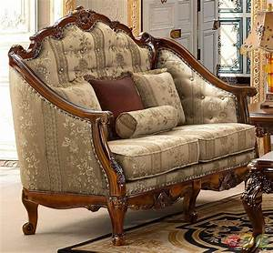 Antique style luxury formal living room furniture set hd 953 for New antique looking furniture