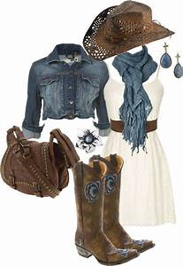 Best 25+ Cowgirl outfits ideas on Pinterest   Country fashion Cowgirl dresses with boots and ...