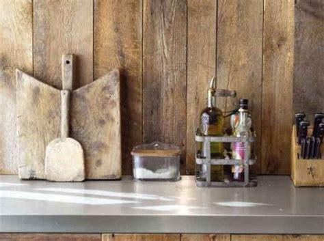 credence cuisine bois quel crédence choisir prix moyen verre bois inox
