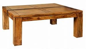 Table Basse Carrée En Bois : bois chiffons salon ~ Teatrodelosmanantiales.com Idées de Décoration