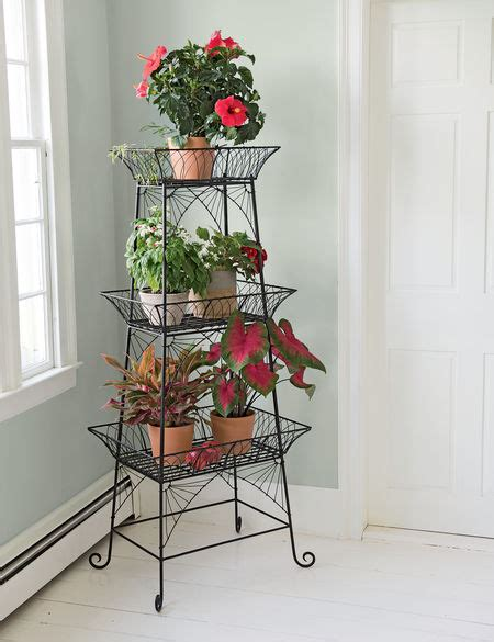 Outdoor Etagere Plant Stand by Wire Plant Stand Bathroom Etagere Black Metal Plant Stand