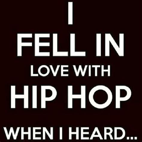 When Did You Fall In Love With Hip-hop?