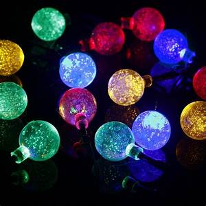 Solar, Powered, Outdoor, Christmas, Lights