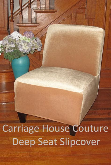 Armless Slipper Chair Slipcovers by Slipcover Gold Stretch Velvet Chair Cover For Armless Chair