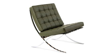 barcelona chair by ludwig mies der rohe