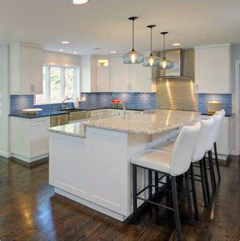 kitchen island height counter vs bar height centsational style