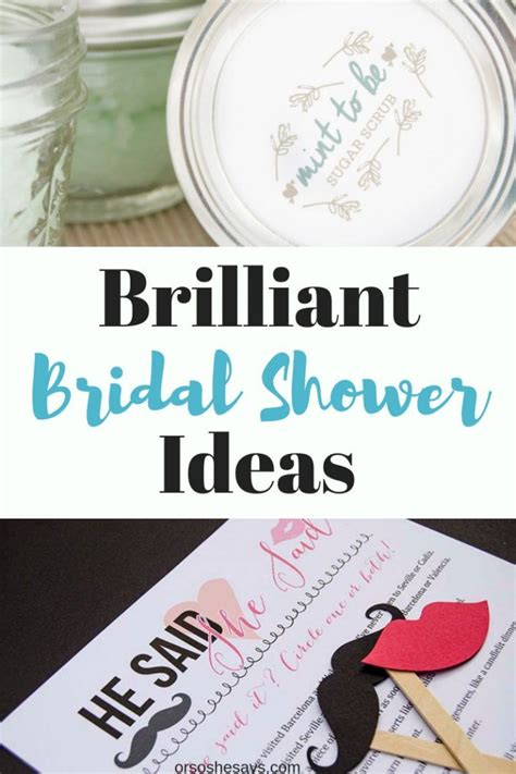 """Take a look at our detailed wedding shower timeline to help you get started. 30 Brilliant Bridal Shower Ideas You'll Want to Say """"I DO ..."""