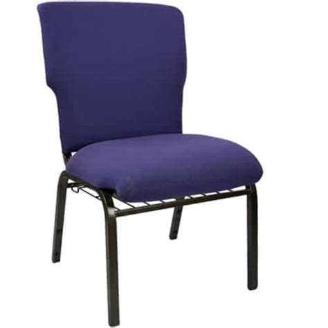 ec eggplant economy 21 inch church chair the furniture