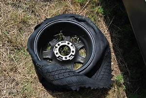 The Ophoven Family  Flat Tire