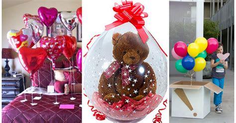 regalos caseros con globos para este 14 de febrero lodijoella