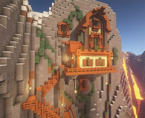 acacia mountain house minecraft houses minecraft crafts