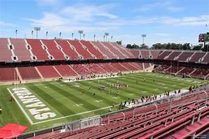 Notre Dame Stadium Row Chart Stanford Stadium Section 218 Rateyourseats Com